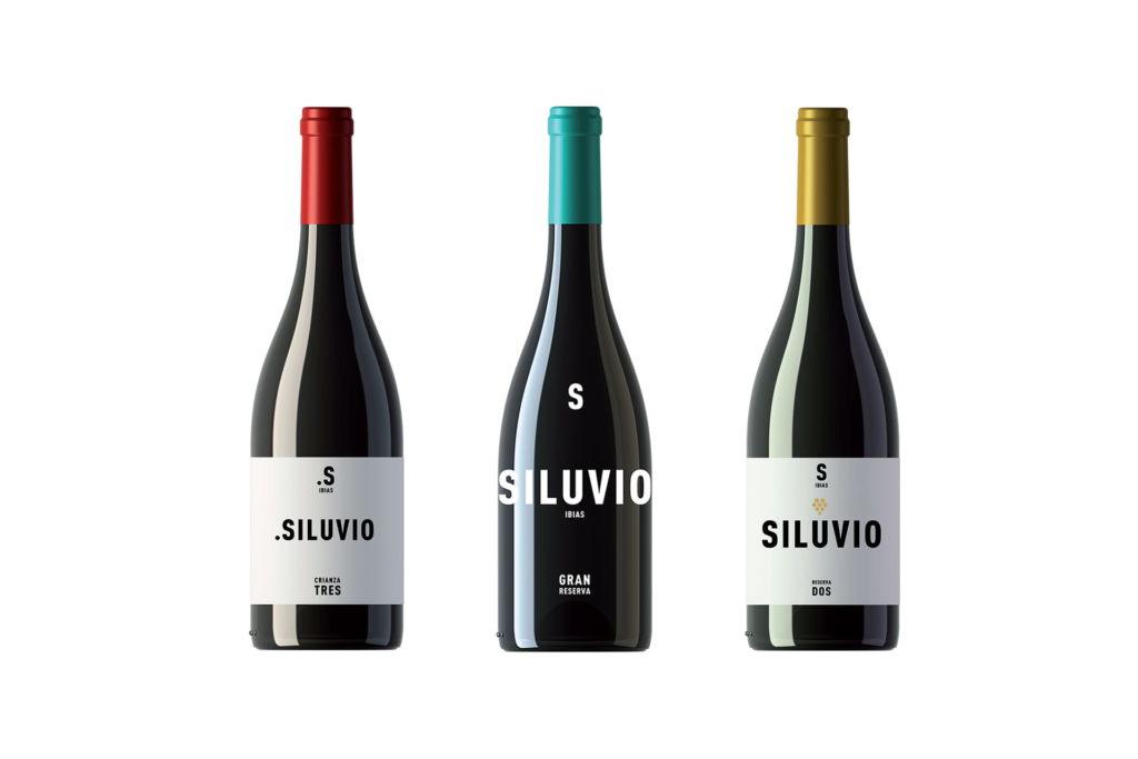 Botellas de vino Bodegas y Viñedos Siluvio